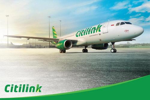 Pesawat Citilink by Garuda Indonesia