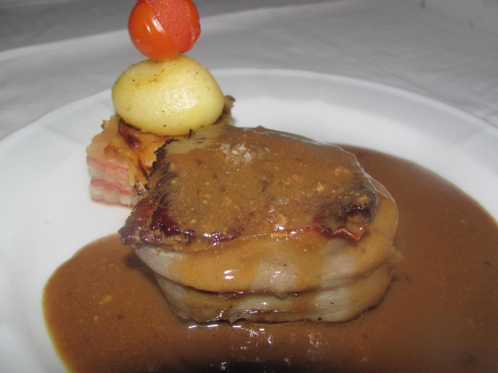 El cocinero jaques medallon de solomillo de ternera - Salsa de oporto para solomillo ...