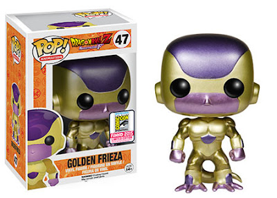 "San Diego Comic-Con 2015 Exclusive Dragon Ball Z ""Golden"" Frieza Pop! Animation Vinyl Figure by Funko"