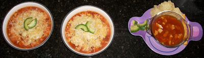 Bowls of Tortilla Soup