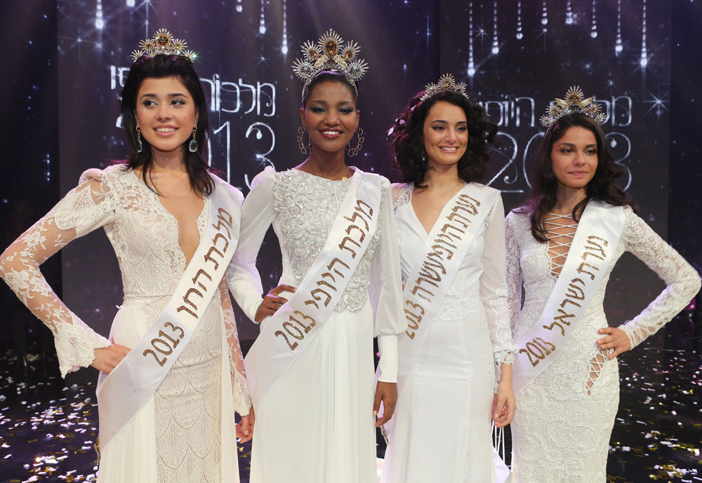 Miss Israel 2013 winners