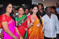 Samantha at womens world Showroom Launch