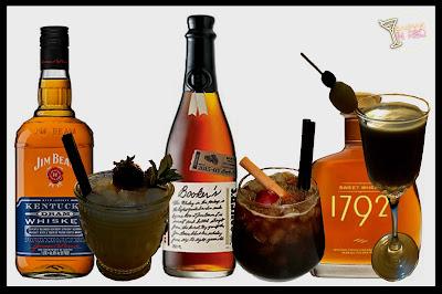 3 whiskies y 3 cocteles