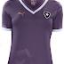 Botafogo tem nova versão da camisa feminina