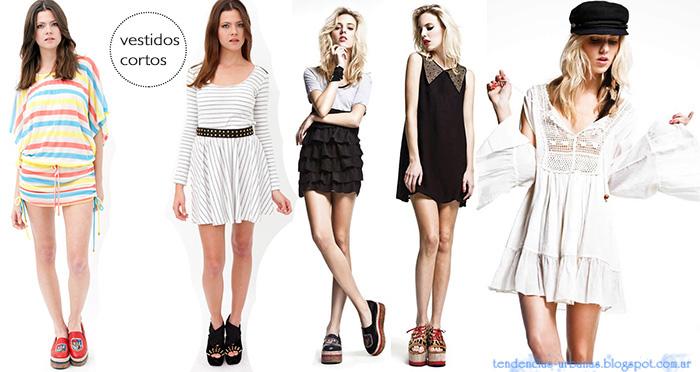 vestidos cortos DelaOstia Verano 2013