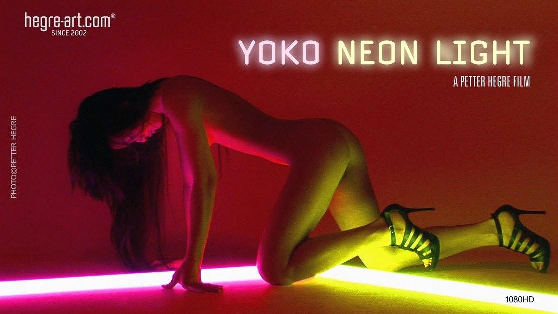 Hegre-Art1-04 Yoko - Neon Light (HD Video) 09050