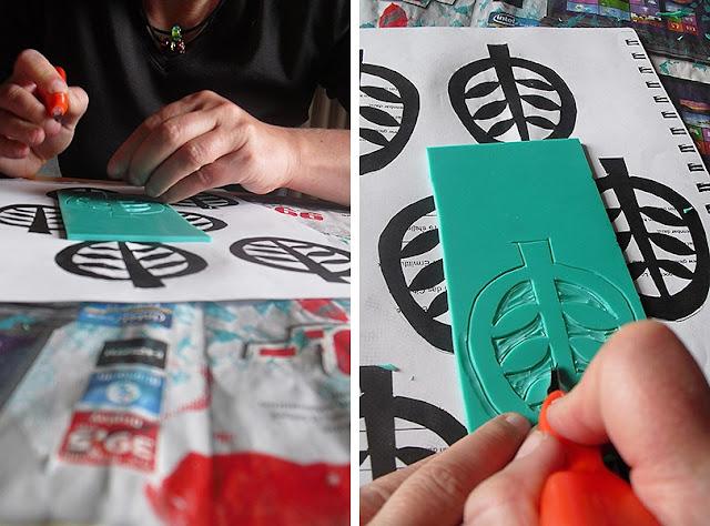 Linolschnitt fertigen