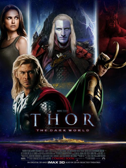 Thần sấm 2 - Thor: The Dark World (2013) Vietsub