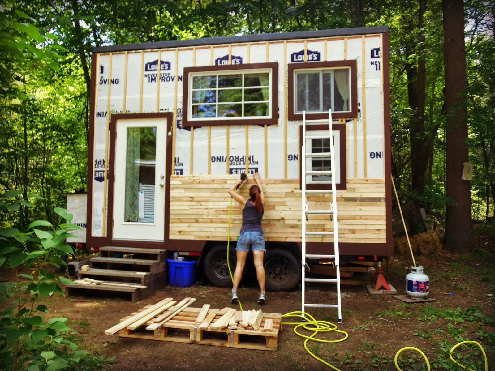 Another tiny house story at long last visual progress for 3 story tiny house