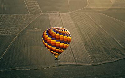 Wonderful Hot Air Balloon 2013 Skyline Hd Desktop Wallpaper