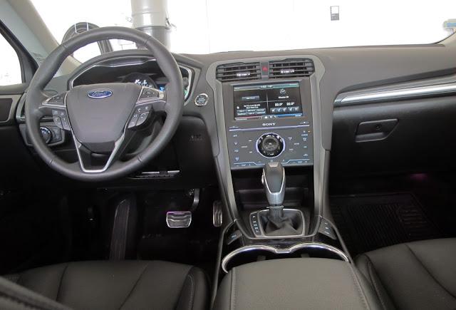 ford fusion interior