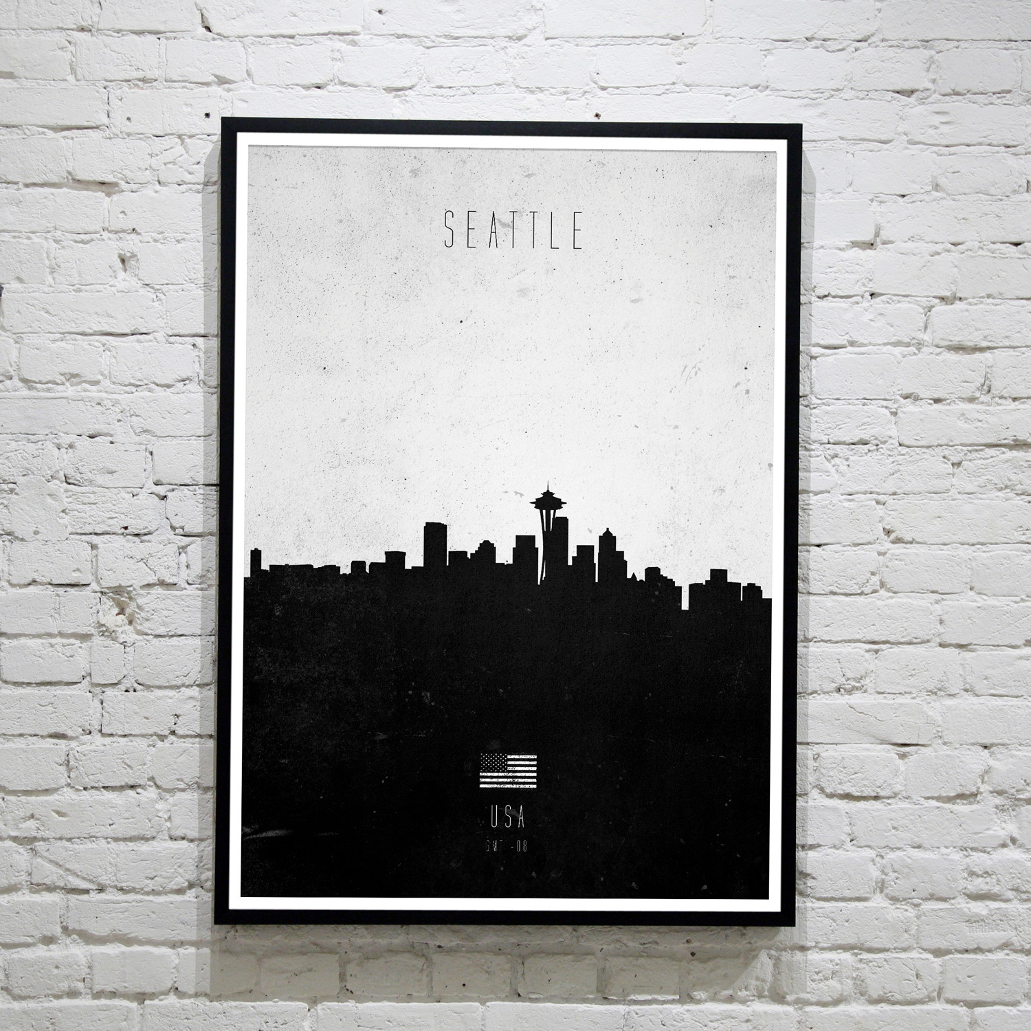 Seattle. Contemporary Cityscape