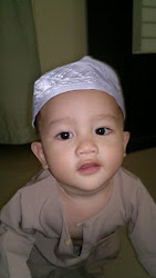 Umar a week b4 his 1st Raya @11 months