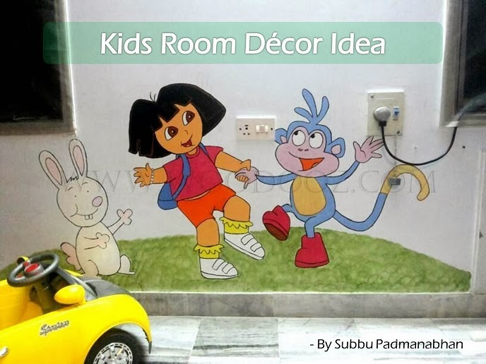 Kids Room Wall Decor Ideas kids room wall decoration idea that mandates no super artistic