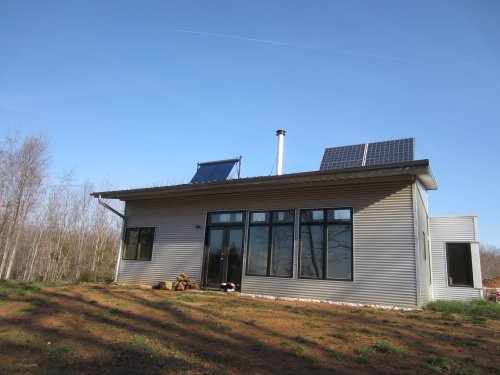 Off grid the passive solar prefab house peeps for Passive solar prefab homes