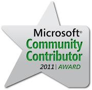 Microsoft Contributor Award