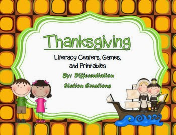 http://www.teacherspayteachers.com/Product/Thanksgiving-Literacy-Reading-Fluency-ABC-Order-Syllables-and-More-968743