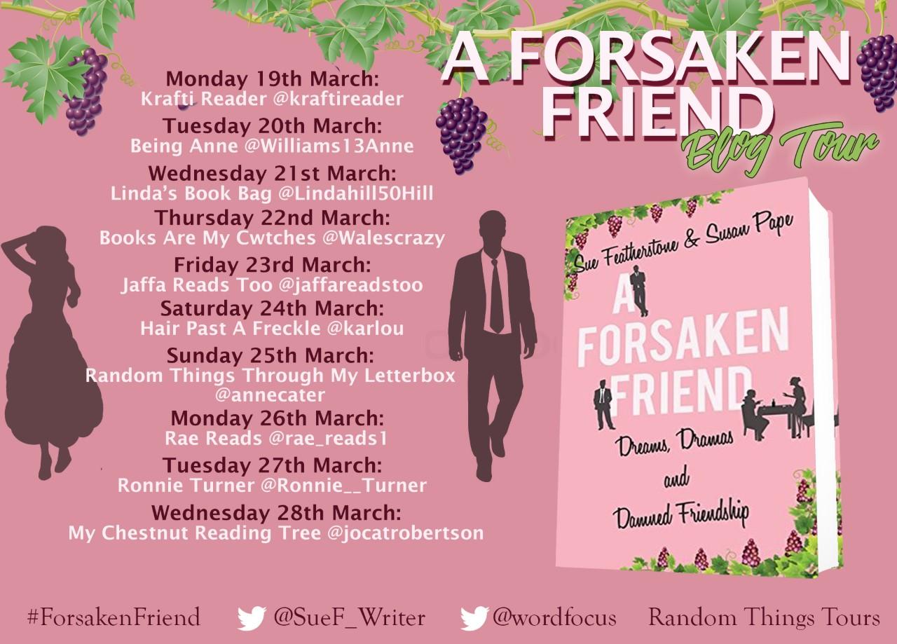 A Forsaken Friend Blog Tour