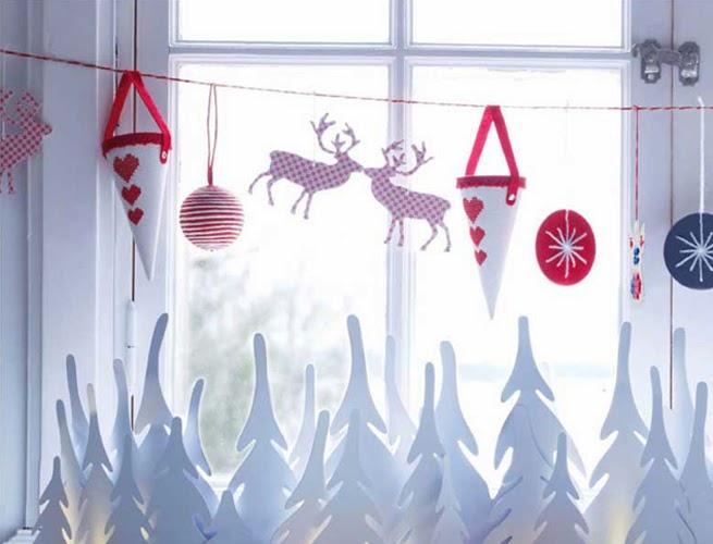 Decoracion Ventanas Navidad ~ MuyAmeno com Decoracion de Ventanas para Navidad, parte 1