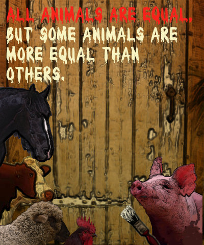 animal farm equality of animal among others essay Animalism in animal farm a thoughtful student contributed this essay so that it  might help other students george orwell's classic, animal farm is about a group .