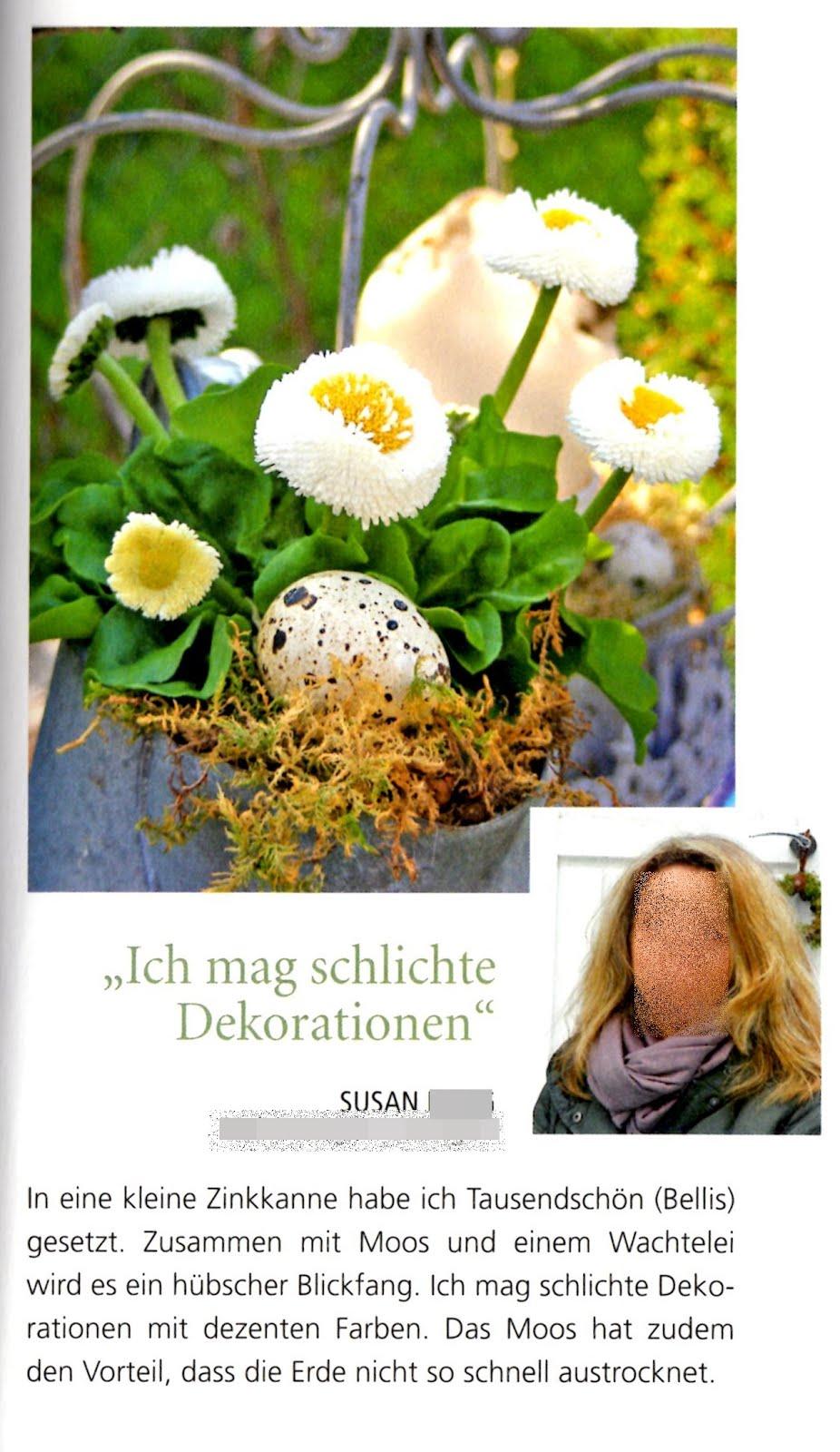 Bilder meines Gartens in den Medien