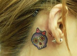 tattoo de caveira masculina e feminina
