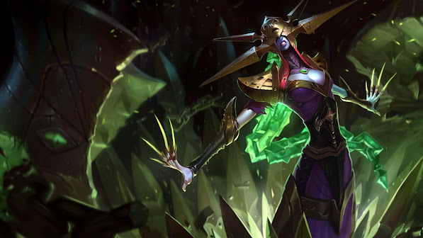 blade queen lissandra skin girl champion