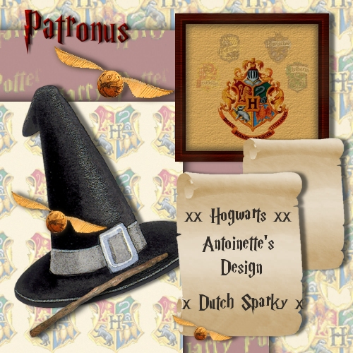Ilove Digi Scrapbooking All Things Digital Harry Potter Theme