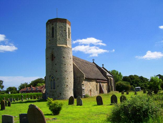 St Marys west somerton church norfolk