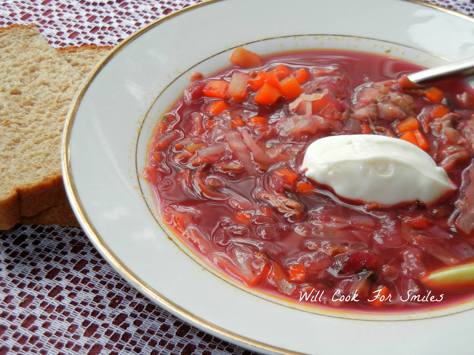Dressing for soup and borsch for the winter 72