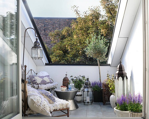 15 fotos de balcones ideas para decorar dise ar y for Decoracion balcones pequenos