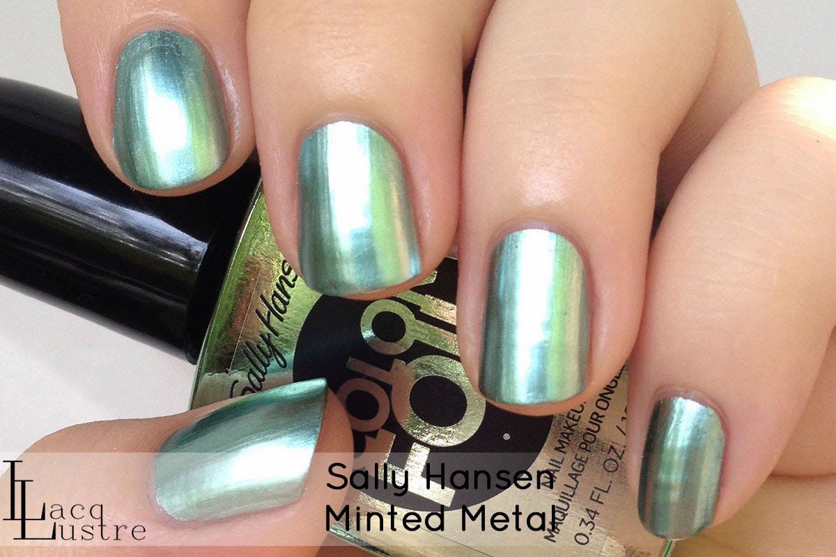 Sally Hansen Minted Metal swatch