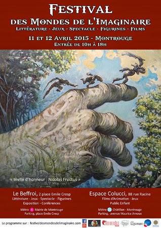 Affiche du festival FMI 2015