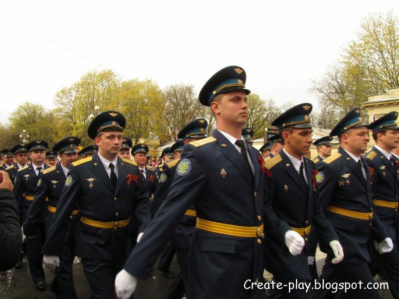 День Победы в Гатчине. Бессмертный полк