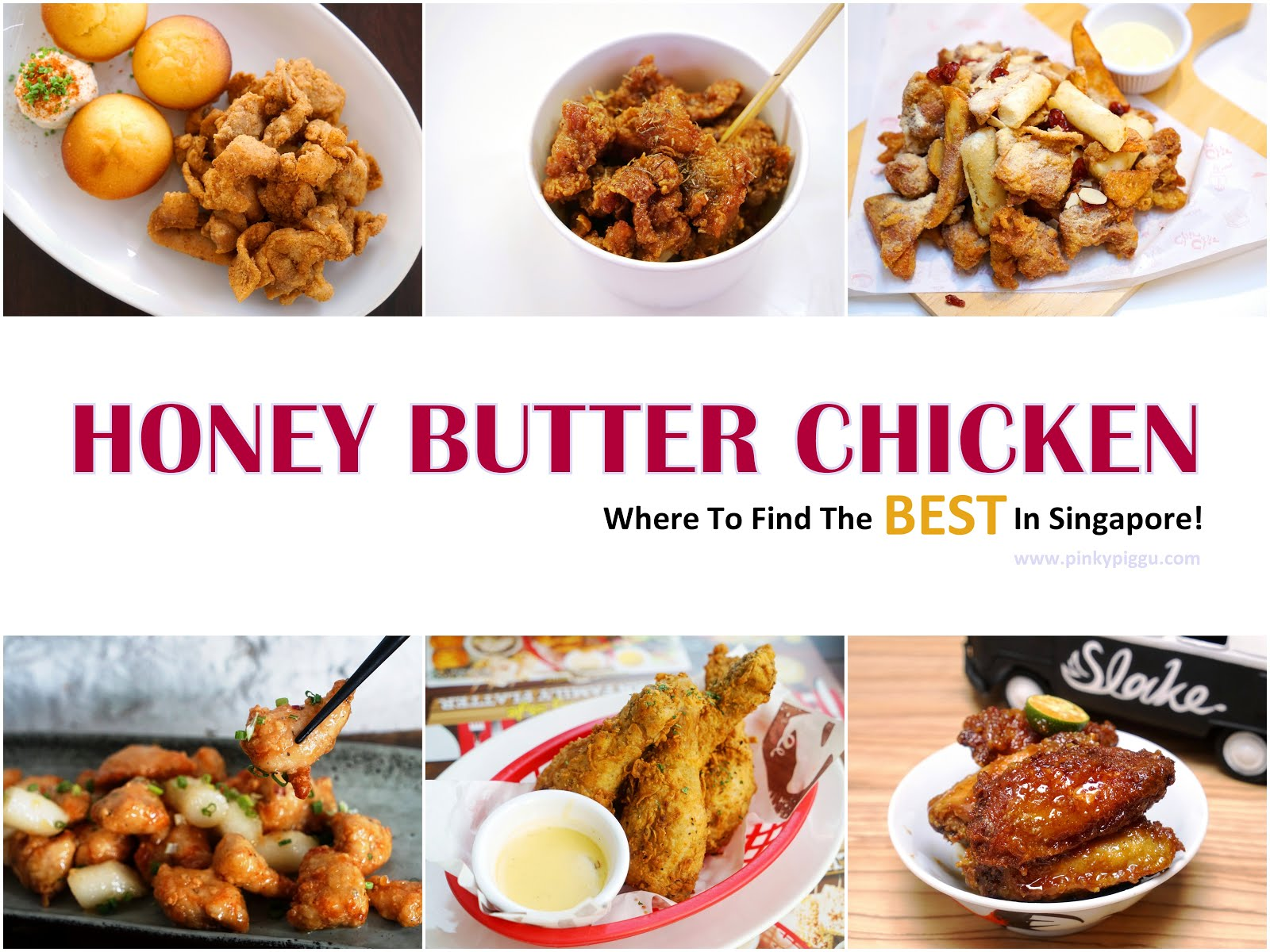 HONEY BUTTER CHICKEN! Where To Find The BEST In Singapore!