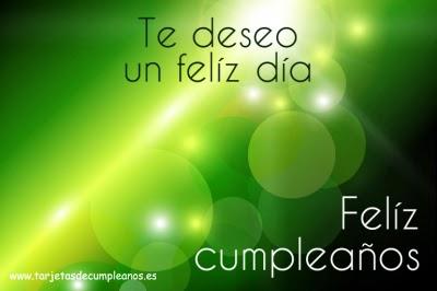 feliz día en tu cumpleaños