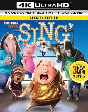 Sing - Quem Canta Seus Males Espanta 4K Ultra HD Torrent Download