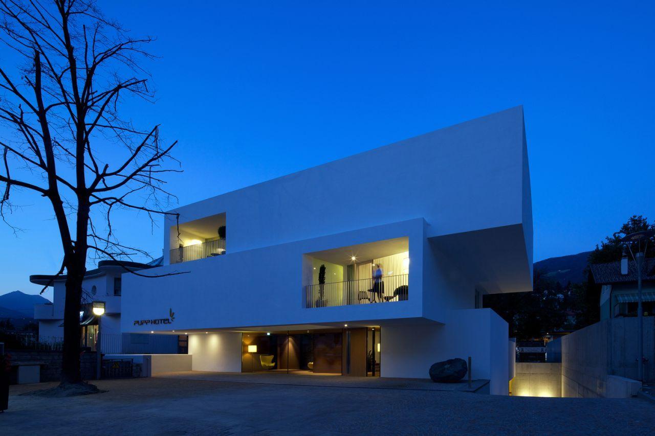 A f a s i a bergmeister wolf architekten for Hotel design quebec