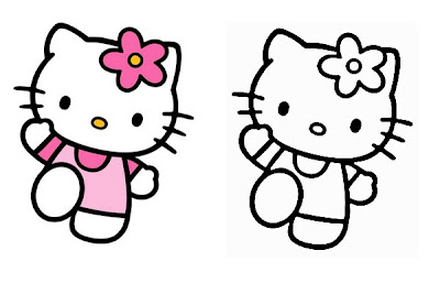 Dibujos de Gatos para colorear | Pintar y colorear dibujos