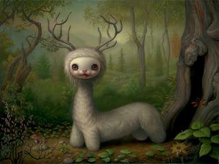 Mark Ryden painting - Yoshi