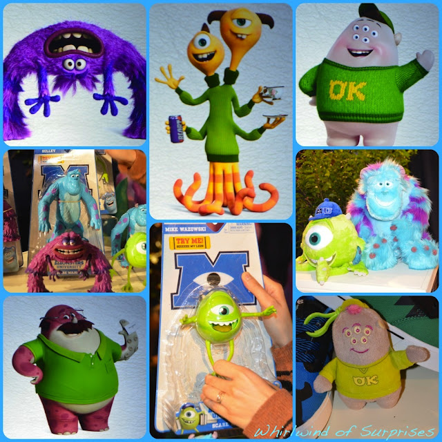 Monsters University Oosma Kappa Fraternity, New Toys for Monsters University, #MonstersUToyFair