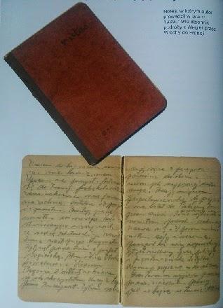 Notes z dziennikiem Alojzego Józekowskiego