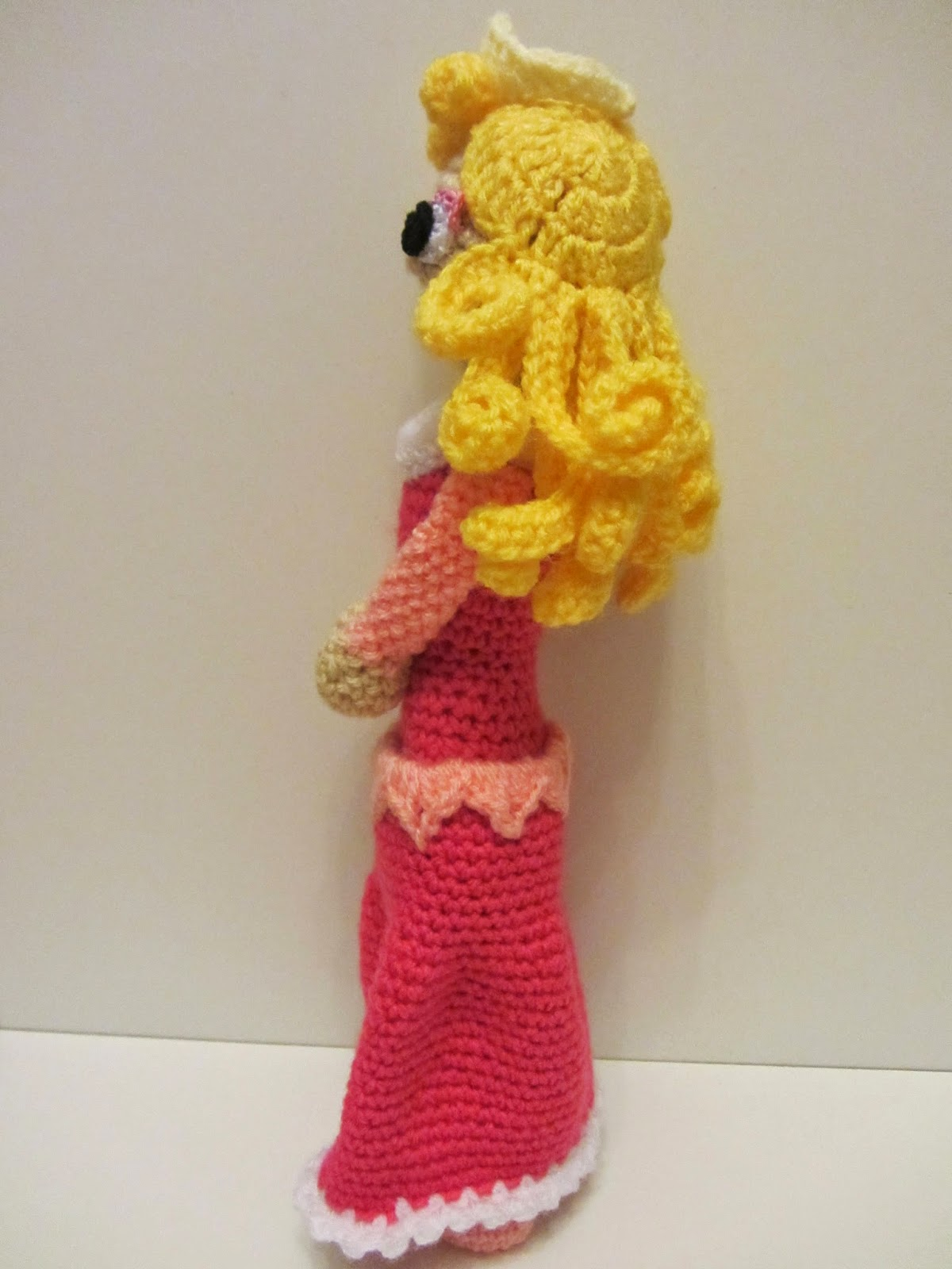 Amigurumi Dornröschen Aurora  Sleeping Beauty ,Disney,Pattern