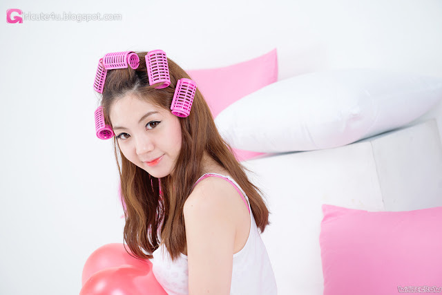 4 Cute Chae Eun - very cute asian girl - girlcute4u.blogspot.com