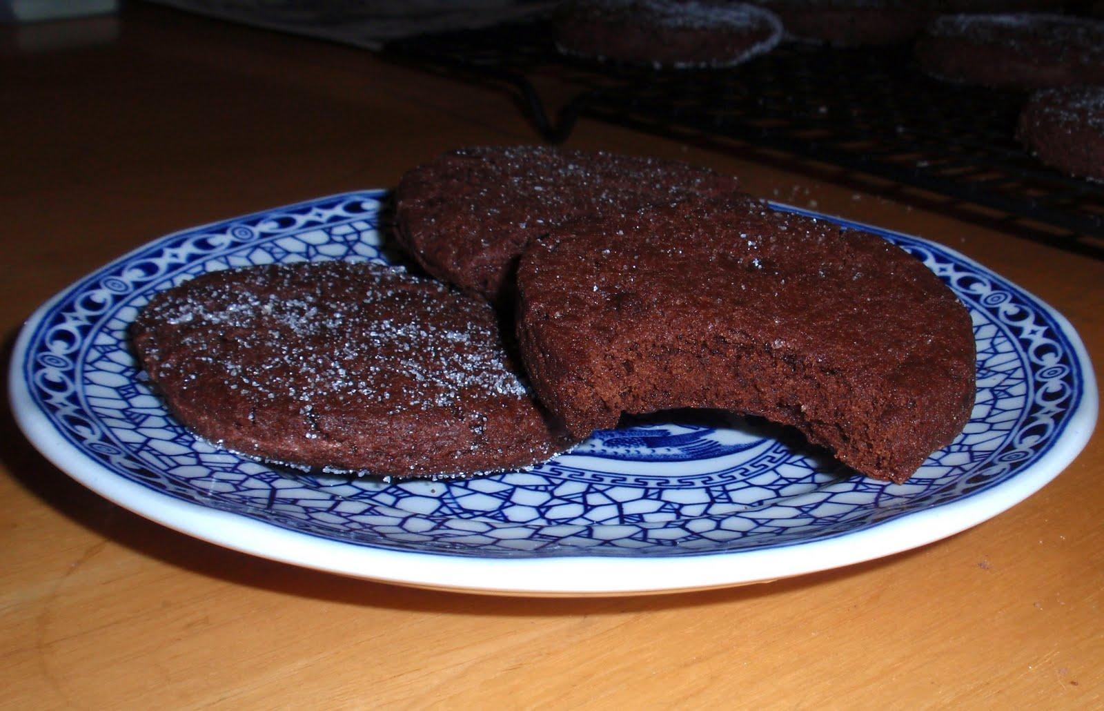 Back Burner Cooking: Chocolate Sable Cookies