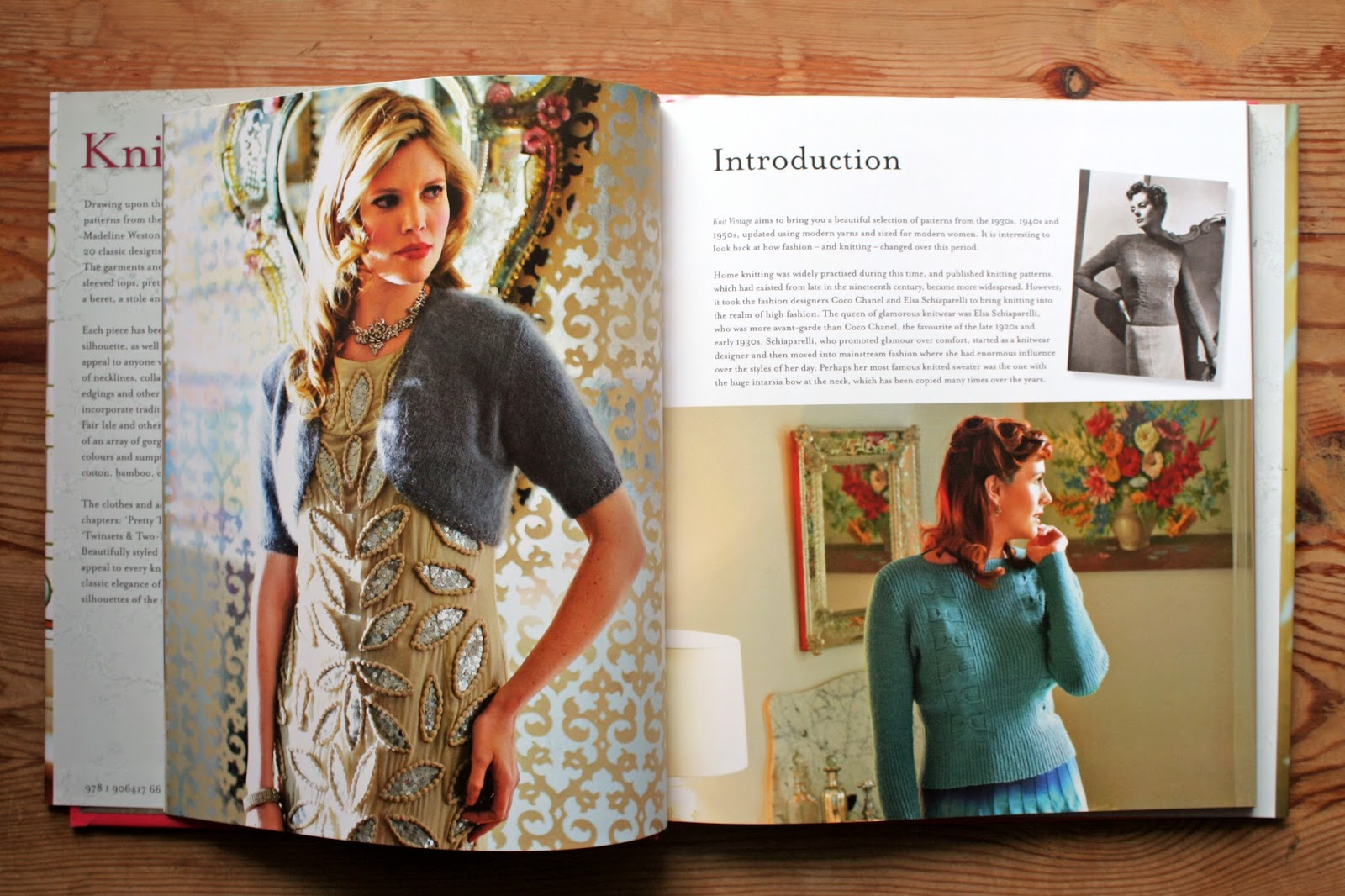 The Butterfly Balcony: Read It - Knit Vintage