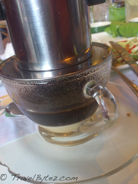 Vietnamese (drip) coffee Before