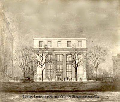 Sketch of Linn-Henley building