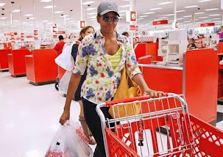 Michelle Obama shopping