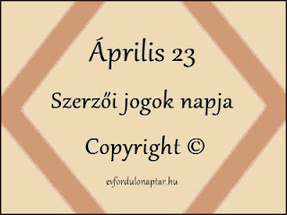A szerzői jogok napja